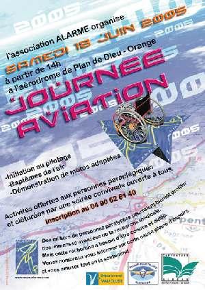 affiche journée aviation - ALARME