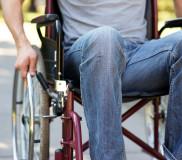 Nach dem Autounfall im Rollstuhl